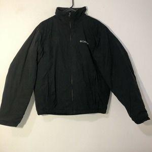 columbia jacket men medium Black Fluffy
